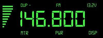 Digital display 146.800MHz